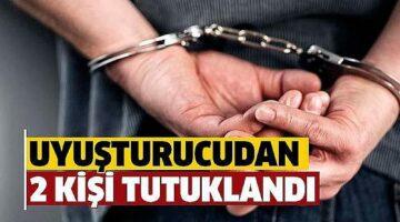 Nevşehir'de uyuşturucu şüphelisi 2 kişi tutuklandı