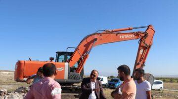 Derinkuyu'da küçük sanayi sitesi inşaatına başlandı