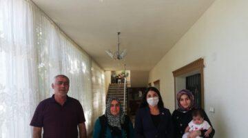 Kaymakam Yıldız'dan Şehit ailesine ziyaret
