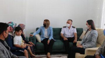 Vali Becel, Gülşehir'de şehit ailesini ziyaret etti