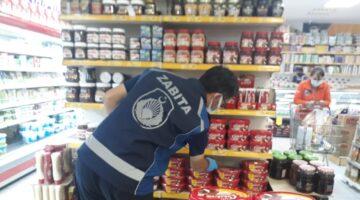 Ürgüp Belediyesi Zabıta Ekipleri marketlerde denetim gerçekleştirdi