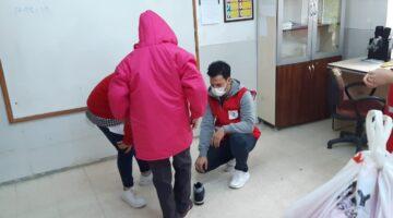 Nevşehir Kızılay'dan öğrencilere destek