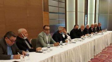 Başkan Avcı TASKK yönetim kurulu toplantısına katıldı
