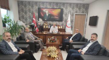 MHP İl başkanı ve yönetiminden ziyaretler