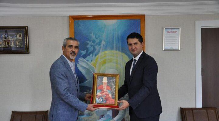 Hacıbektaş Kaymakamı Şenay, Belediye Başkanı Altıok'u ziyaret etti