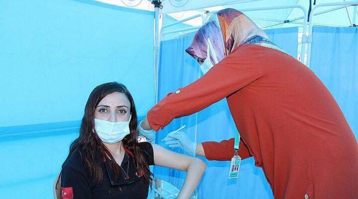 Nevşehir'de 321 bin 465 doz aşı yapıldı