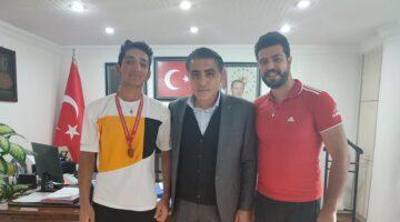 Hasan Akbulak Gülşehir'e Bronz Madalya ile döndü