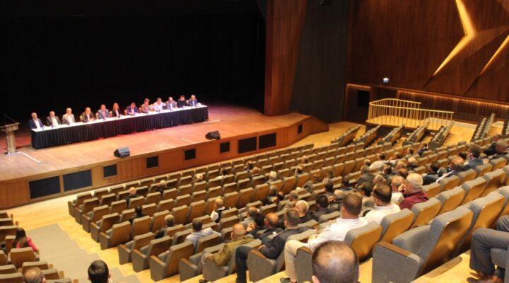 NTSO, NTB ve ÜTSO Odalar Borsalar Müşterek Toplantısı için biraraya geldi