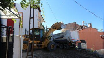 350 Evler Mahallesi'nde iki sokakta daha altyapı çalışmaları başlıyor