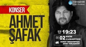 Ülkü Ocakları'ndan Ahmet Şafak konseri