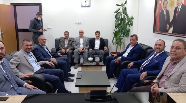 AK Parti heyetinden Diyanet-Sen'e ziyaret
