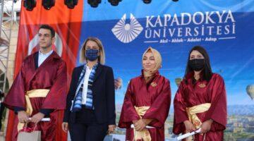 Kapadokya Üniversitesi'nde mezuniyet töreni düzenlendi