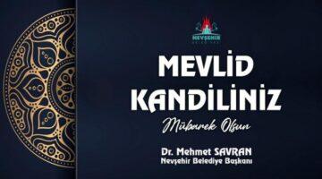 Belediye Başkanı Savran, Mevlid Kandilini kutladı