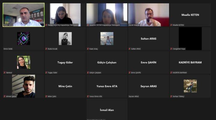 CAPPIN2C Teknoloji Tabanlı Girişimcilik Programı Birinci Aşama Eğitimleri Başladı