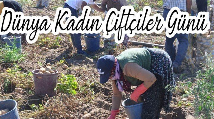 Dünya Kadın Çiftçiler Günü Kutlu olsun