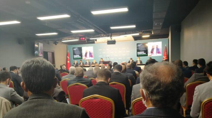 Başkan Ali Doğan Simit il başkanları toplantısına katıldı