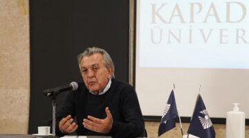 Kapadokya Üniversitesi, Lisansüstü Seminerlerinde Ağırdır'ı konuk etti