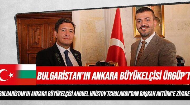 Bulgaristan'ın Ankara Büyükelçisi'nden ziyaret