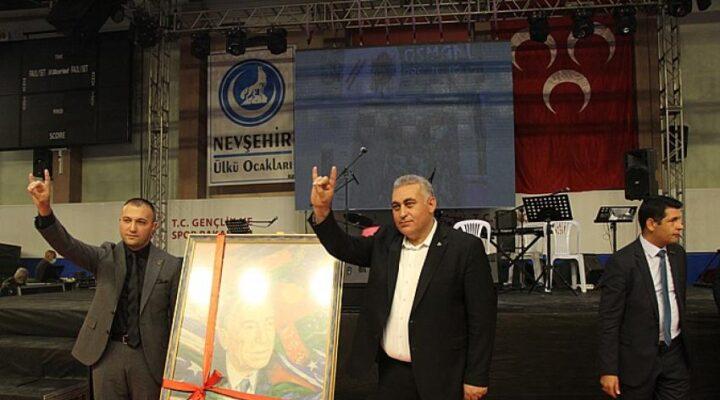 Başbuğ Alparslan Türkeş'in tablosunu Kaya aldı