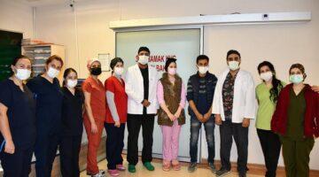 Nevşehir'de bir ilk, kalbi delik hasta açık kalp ameliyatı ile sağlığına kavuştu