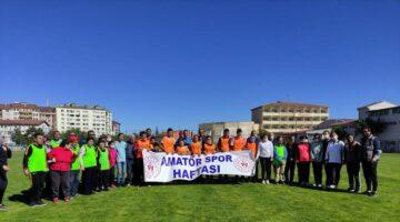 Özel İnsanlar Amatör Spor Haftası Etkinliklerine katıldı