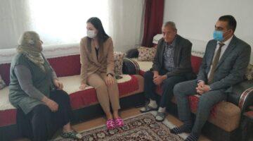 Polat'ın ev ziyaretleri sürüyor
