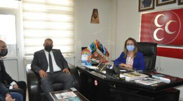 MHP Genel Başkan Yardımcısı Kılıç parti teşkilatını ziyaret etti
