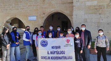Gençler Kapadokya'nın tarihi mekanlarında buluştu